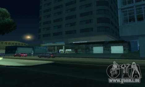 Er vollendete Bau in San Fierro V1 für GTA San Andreas achten Screenshot