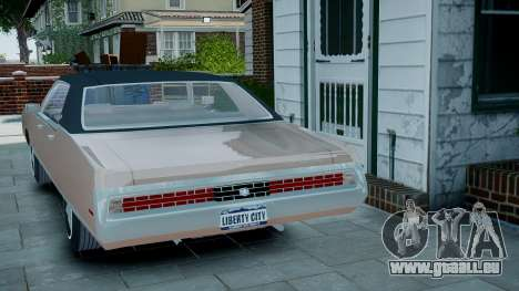 Chrysler New Yorker 1971 für GTA 4 linke Ansicht