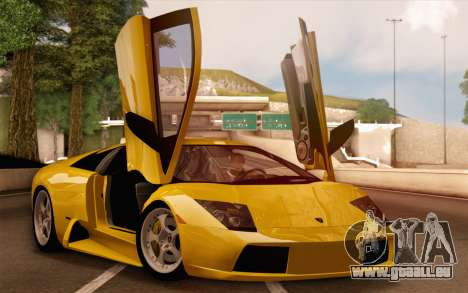 Lamborghini Murciélago 2005 pour GTA San Andreas moteur