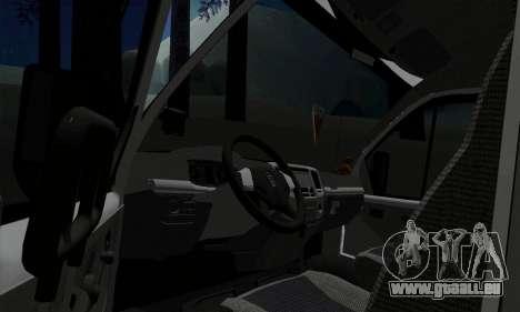 Entreprise Gazelle 33023 pour GTA San Andreas vue arrière