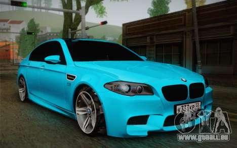 BMW M5 F10 v1 pour GTA San Andreas