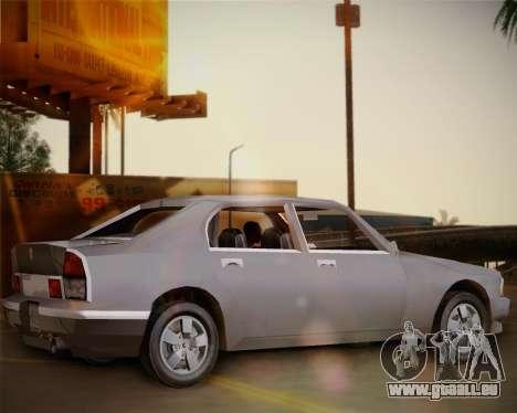GTA III Kuruma pour GTA San Andreas laissé vue