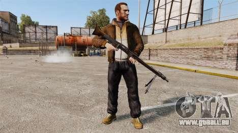 Allzweck-Maschinengewehr MG42 für GTA 4 dritte Screenshot