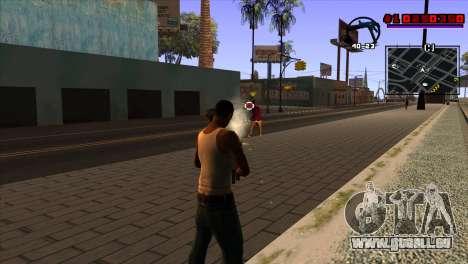 C-HUD Project Capture 6 pour GTA San Andreas troisième écran