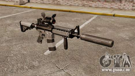 M4 carabine avec silencieux v2 pour GTA 4
