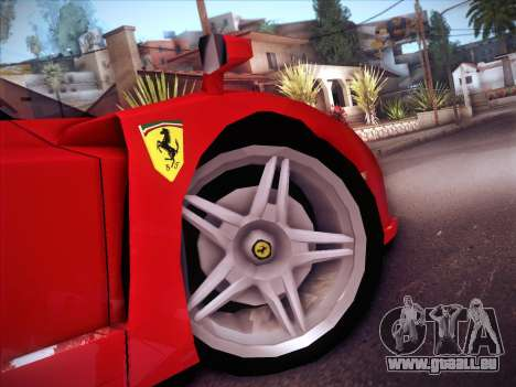 Ferrari Enzo 2003 für GTA San Andreas Seitenansicht
