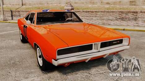 Dodge Charger 1969 General Lee v2.0 HD Vinyl pour GTA 4