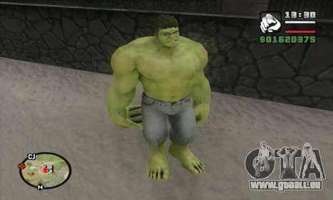 Hulk für GTA San Andreas her Screenshot