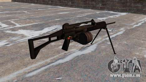 Fusil d'assaut MG36 pour GTA 4 secondes d'écran