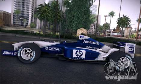 BMW Williams F1 pour GTA San Andreas salon