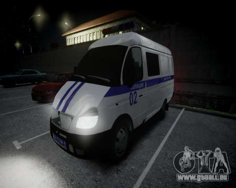 Gazelle 2705 Police pour GTA 4