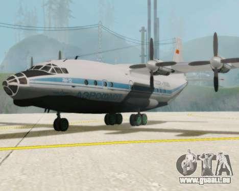L'Antonov-12 de Aeroflot pour GTA San Andreas
