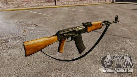 AK-47 v5 pour GTA 4 secondes d'écran