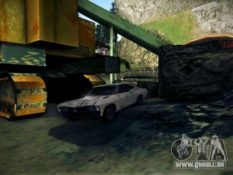 Playable ENB by Pablo Rosetti pour GTA San Andreas deuxième écran