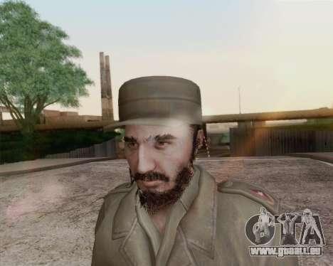 Fidel Castro pour GTA San Andreas troisième écran