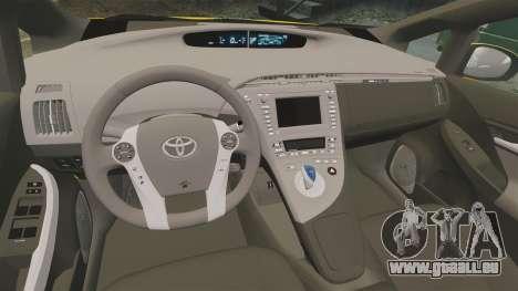 Toyota Prius 2011 Warsaw Taxi v4 pour GTA 4 est un côté