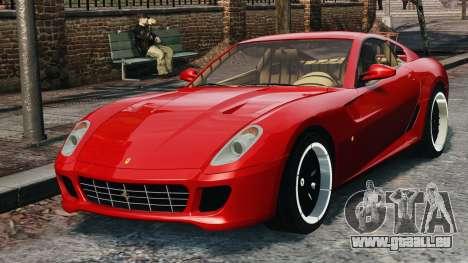 Ferrari 599 GTB Hamann 2006 für GTA 4 Rückansicht