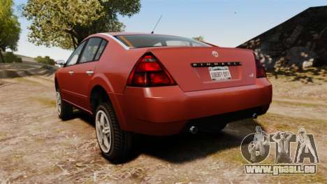 Pinnacle Off-road pour GTA 4 Vue arrière de la gauche