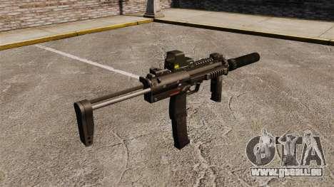 HK MP7 Maschinenpistole Sopmod für GTA 4 Sekunden Bildschirm