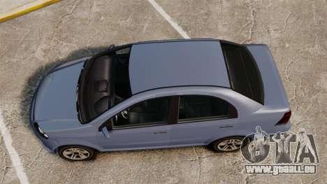 GTA V Declasse Asea I500 für GTA 4 rechte Ansicht