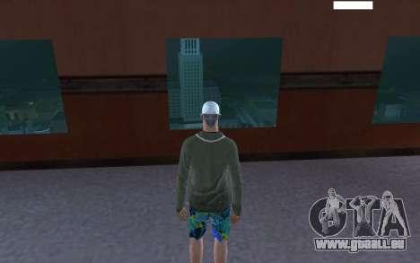 HD peau Bum pour GTA San Andreas troisième écran