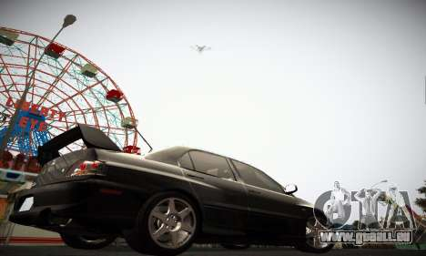 Mitsubishi Lancer Evo IX für GTA San Andreas zurück linke Ansicht