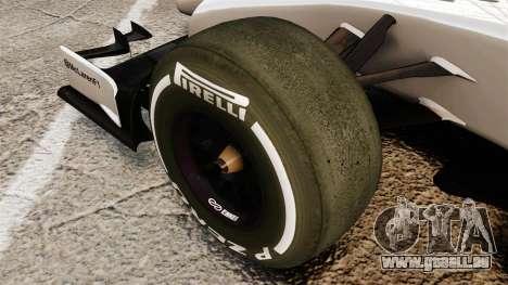 McLaren MP4-29 pour GTA 4 Vue arrière