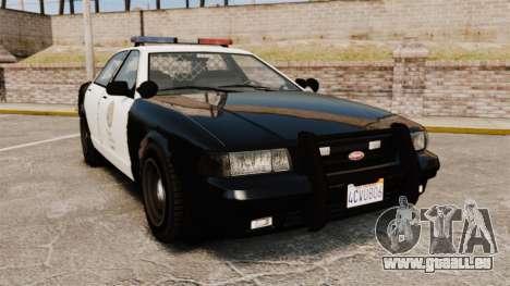 GTA V Police Cruiser [ELS] pour GTA 4