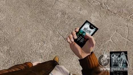 Thème de la lune pour votre téléphone pour GTA 4