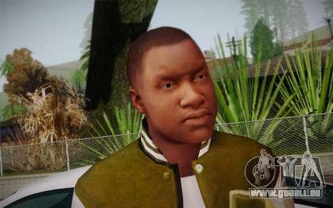 Franklin c. peau 2 pour GTA San Andreas deuxième écran