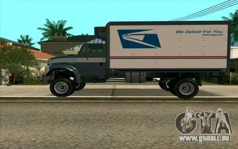 Yankee GTA 4 für GTA San Andreas linke Ansicht