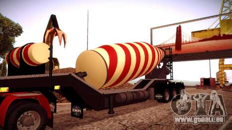 Cement Mixer für GTA San Andreas