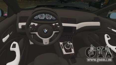 BMW M3 E46 für GTA 4 Innenansicht