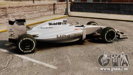 McLaren MP4-29 für GTA 4 linke Ansicht
