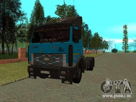 MAZ 54320 für GTA San Andreas