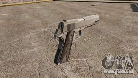 Colt M1911 pistolet v3 pour GTA 4 secondes d'écran