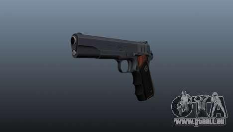 Halbautomatische Pistole Hitman Silverballer für GTA 4