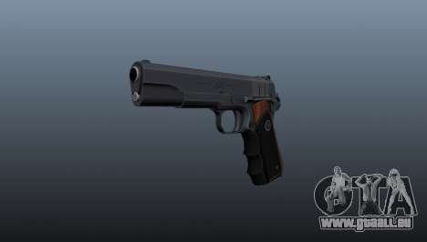 Pistolet semi-automatique Hitman Silverballer pour GTA 4