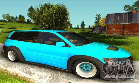 Mitsubishi Evo IX Wagon S-Tuning pour GTA San Andreas laissé vue