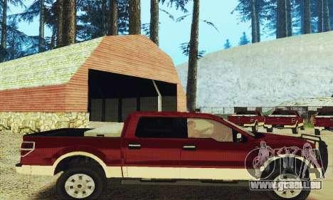 Ford F-150 KING RANCH Edition 2010 für GTA San Andreas rechten Ansicht
