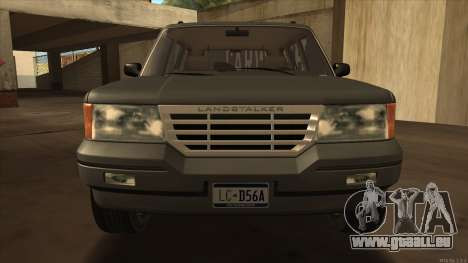 Landstalker HD from GTA 3 für GTA San Andreas zurück linke Ansicht