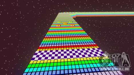 Route arc-en-ciel pour GTA 4 secondes d'écran