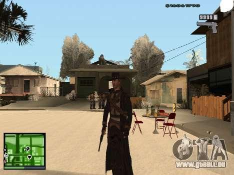 Ray Mccall de Call Of Juarez pour GTA San Andreas deuxième écran