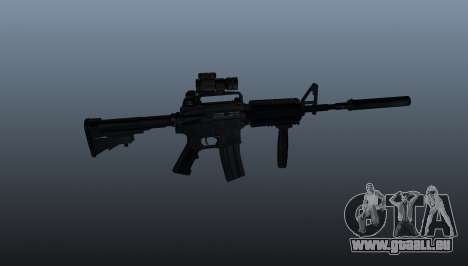Automatische Carbine M4A1 Grip für GTA 4 dritte Screenshot