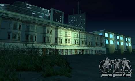 Il a achevé la construction de San Fierro V1 pour GTA San Andreas onzième écran