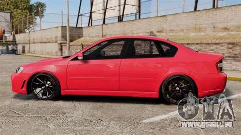 Subaru Legacy B4 2.0 GT Series IV [BL] 2005 pour GTA 4 est une gauche