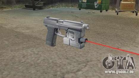 H & K MK23 Socom Pistole für GTA 4