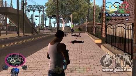 HUD Olympiade für GTA San Andreas