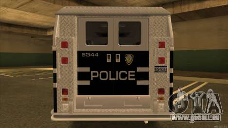Enforcer HD from GTA 3 pour GTA San Andreas vue de droite