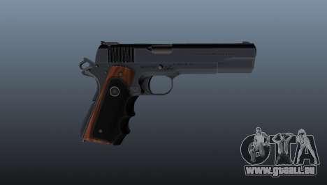 Halbautomatische Pistole Hitman Silverballer für GTA 4 dritte Screenshot